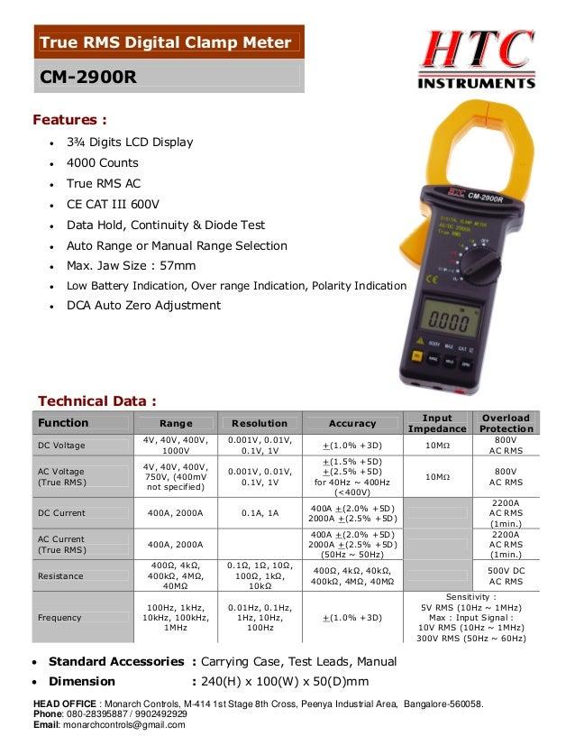 True Rms Clamp Meter True Rms Digital Clamp Meter