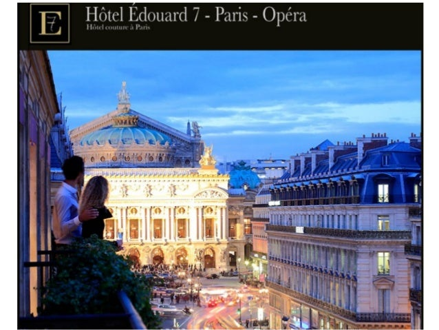 Hôtel edouard 7   paris