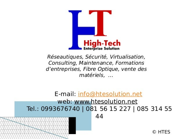Réseautiques, Sécurité, Virtualisation,      Consulting, Maintenance, Formations     d'entreprises, Fibre Optique, vente d...