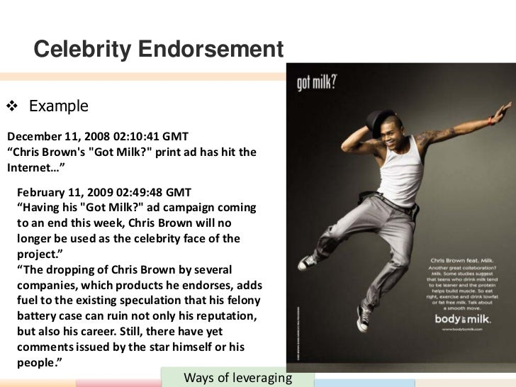 Online brand discovery through celebrity endorsements by ...