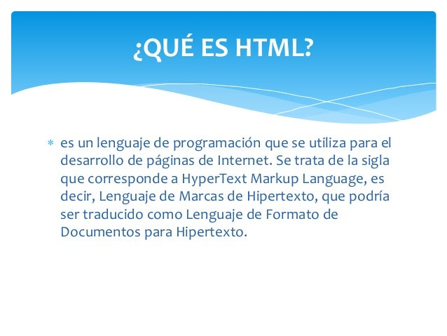  es un lenguaje de programación que se utiliza para el desarrollo de páginas de Internet. Se trata de la sigla que corres...