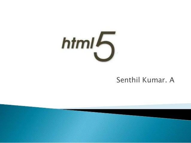 Senthil Kumar. A