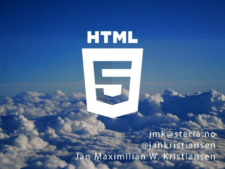 HTML5 for Graduate Gathering in Steria