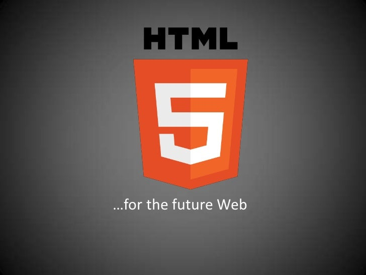 …for the future Web