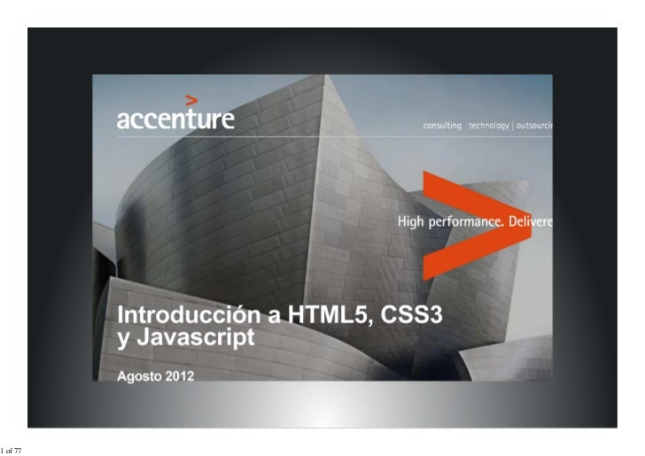 Html5, css3 y js
