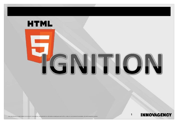 Html5 ignition
