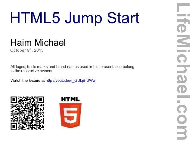 HTML5 Jump Start