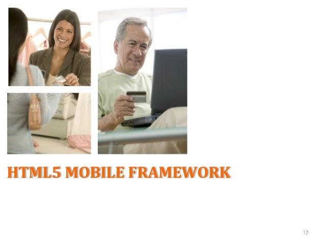 HTML5 Mobile Application Framework