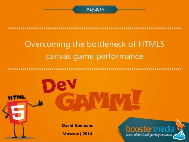 BoosterMedia: Overcome the bottleneck of HTML5 mobile game performance