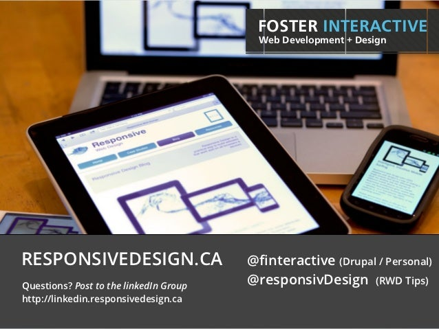 Responsive Web Design - Introduction & Workflow Overview
