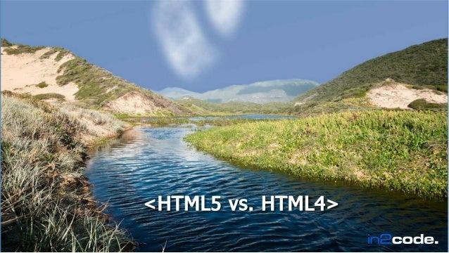 HTML5 vss HTML4
