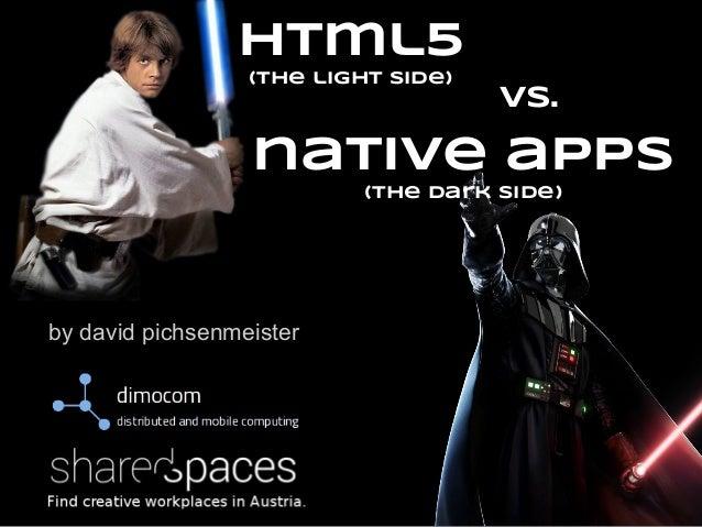 html5 web apps vs native apps