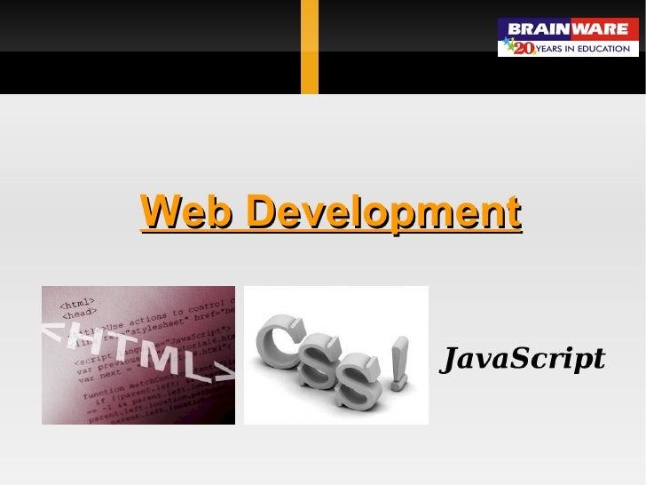 Web Development using HTML & CSS