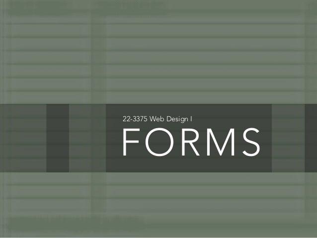 22-3375 Web Design IFORMS
