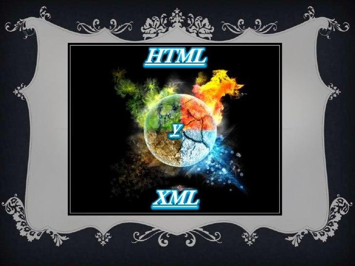 Html y xml