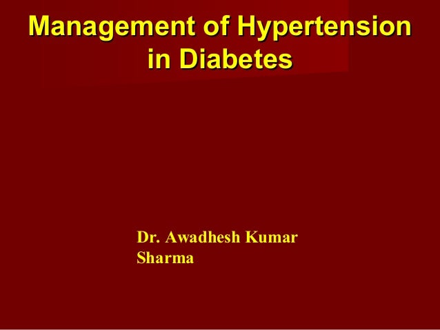 Hypertension & Diabetes