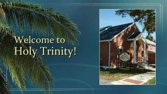 Holy Trinity Digital Bulletin (Apr. 28-May 5, 2013)