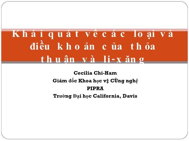 Htqt Vietnam Chih Am Agreements License (Tv)