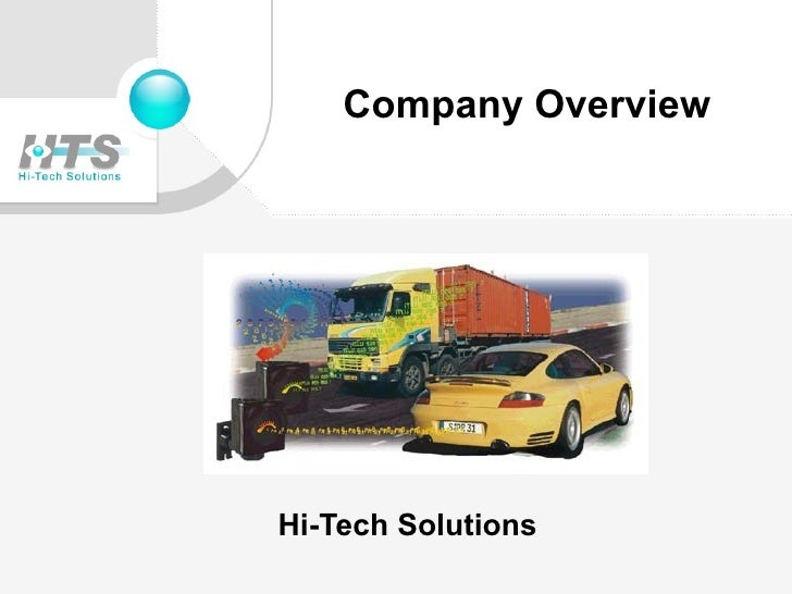 Company Overview Hi-Tech Solutions
