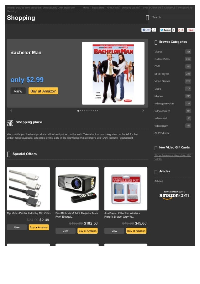 The best products at the best prices; Shop Securely Online today with      Home   Best Sellers     All Bundles   Shopping ...