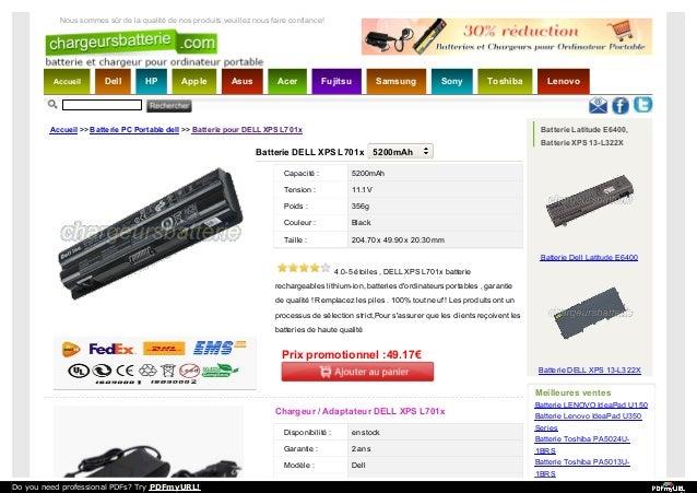 Accueil Dell HP Apple Asus Acer Fujitsu Samsung Sony Toshiba Lenovo Nous sommes sûr de la qualité de nos produits,veuillez...