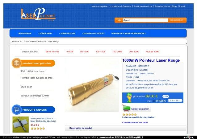 Notre entreprise 丨 Livraison et Garantie 丨 Politique de retour丨 Avis des clients丨Blog 丨E-mail Search BIENVENUE LASER VERT ...