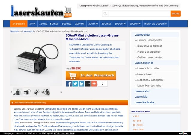 Startseite >> Lasermodul >> 500mW Mini violetten Laser-Gravur-Maschine-Modul 0 500mW Mini Lasergravur Gravur Leistung zu v...