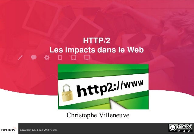 nAcademyLe31mars2015Neuros HTTP/2 LesimpactsdansleWeb ChristopheVilleneuve