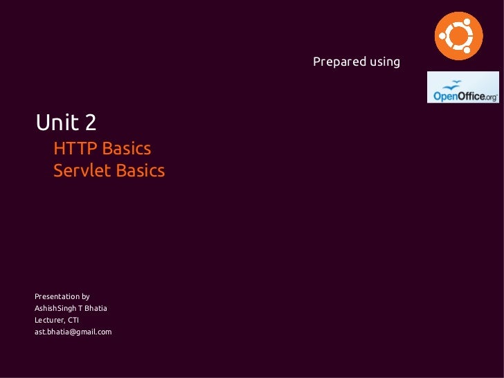 HTTP Basic and Servlet Basic