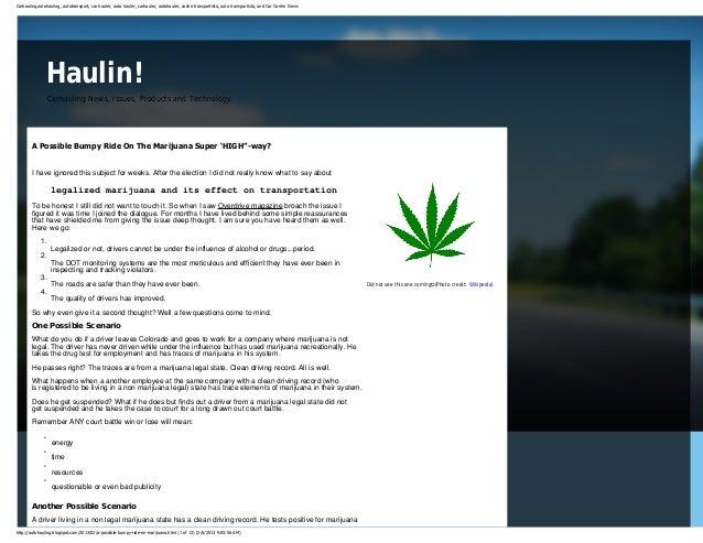 Http  _autohauling.blogspot.com_2013_02_a-possible-bumpy-ride-on-marijuana