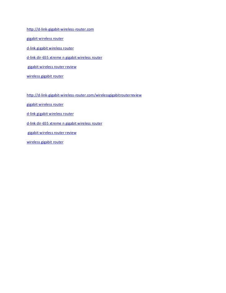 http://d-link-gigabit-wireless-router.comgigabit wireless routerd-link gigabit wireless routerd-link dir-655 xtreme n giga...