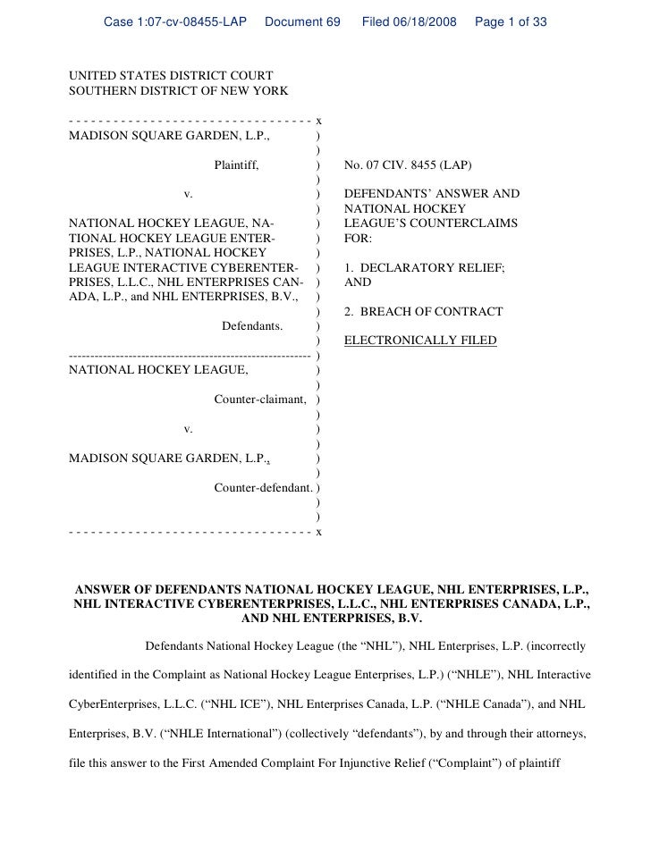 Case 1:07-cv-08455-LAP               Document 69         Filed 06/18/2008      Page 1 of 33    UNITED STATES DISTRICT COUR...