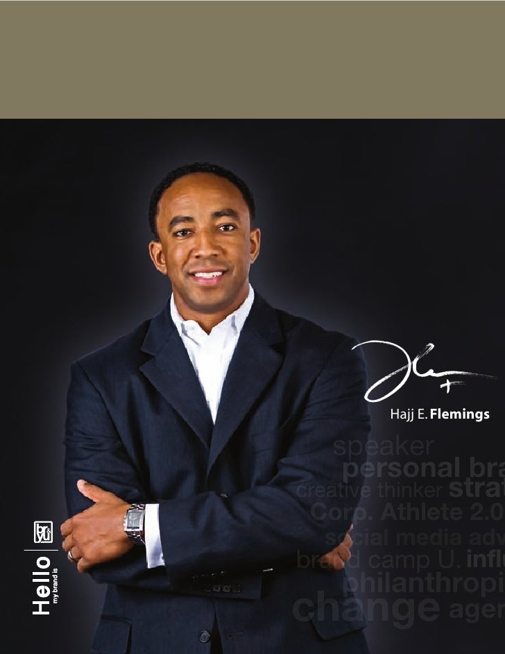 Hajj Flemings -  Creative/Visual Resume