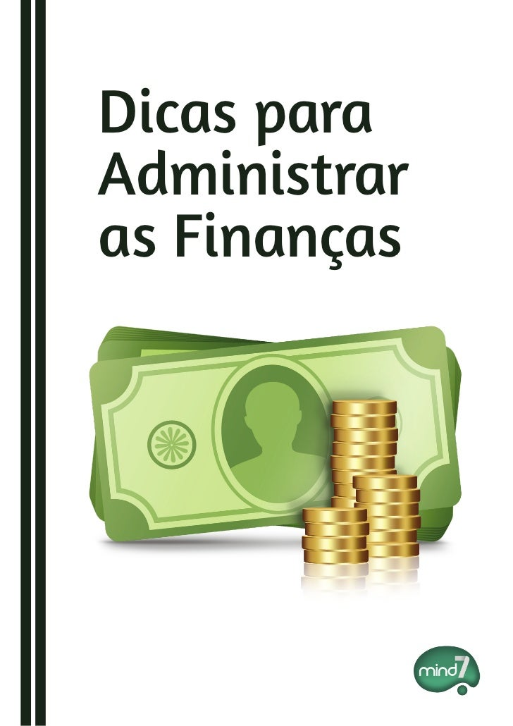 Dicas paraAdministraras Finanças