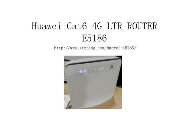 Huawei Cat6 4G LTR ROUTER E5186 http://www.store4g.com/huawei-e5186/