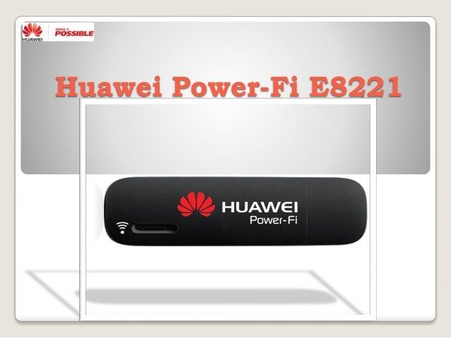 fall huawei power fi e8221 data card see