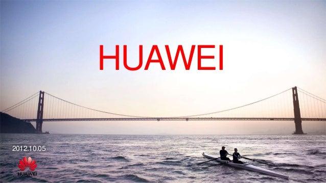HUAWEI2012.10.05