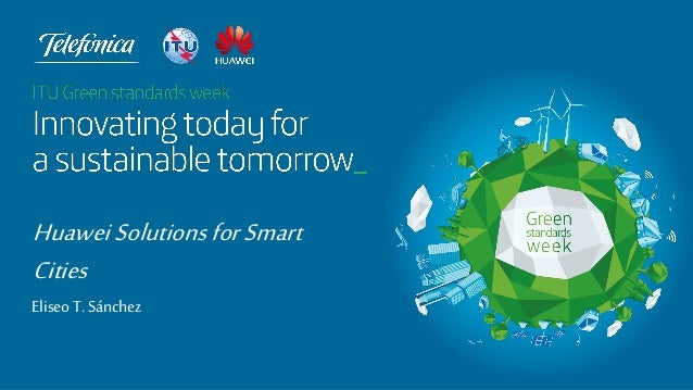 Huawei Solutions for Smart Cities