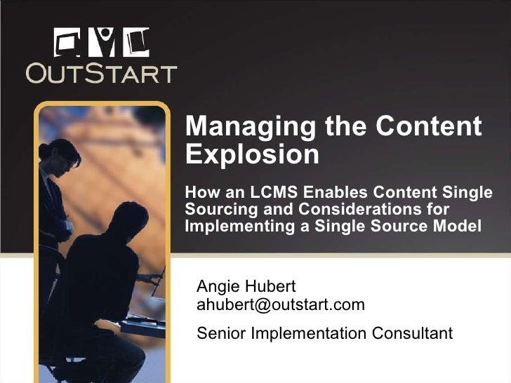 Hubert Managing The Content Explosion