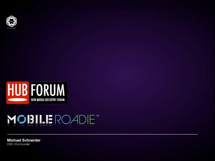 Hub Forum Moscow 2012