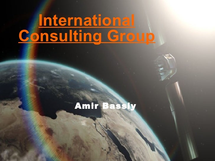 Amir Bassly International Consulting Group