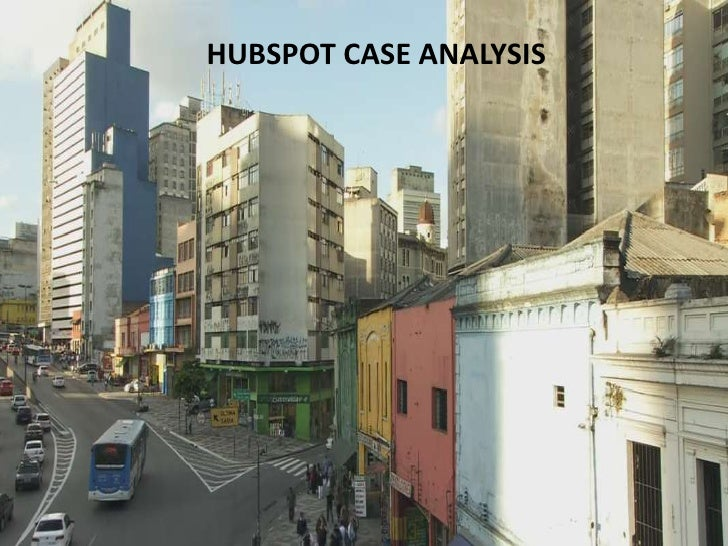 HUBSPOT CASE ANALYSIS