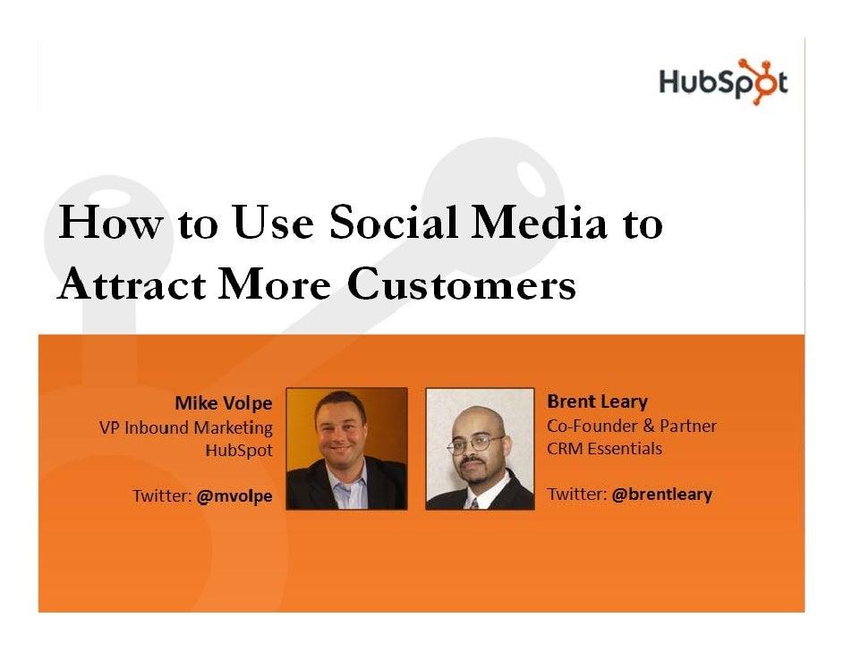 Hub Spot Social Media