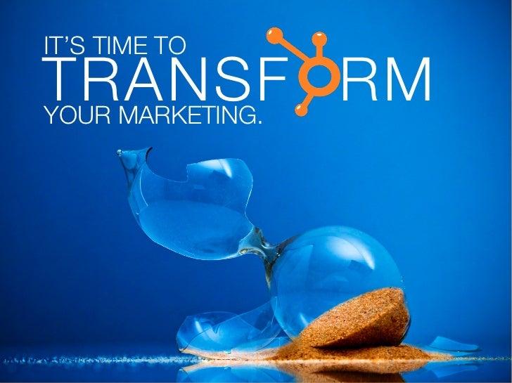 Transform Your Marketing