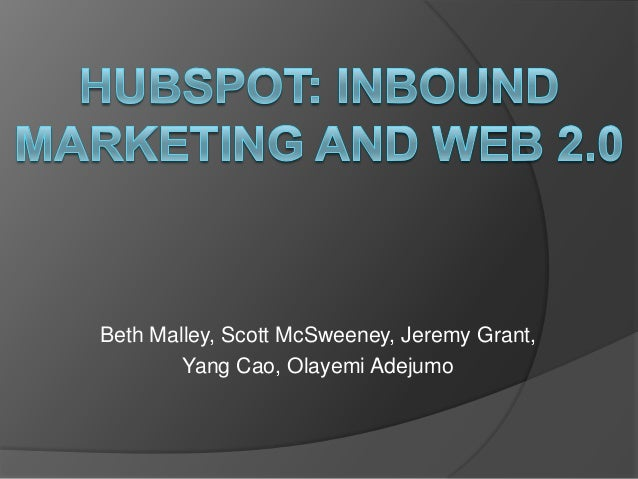 hubspot 5c analysis The wall street journal reported spending on marketing analytics is expected to nearly double over the next two years by using multifactor analysis.