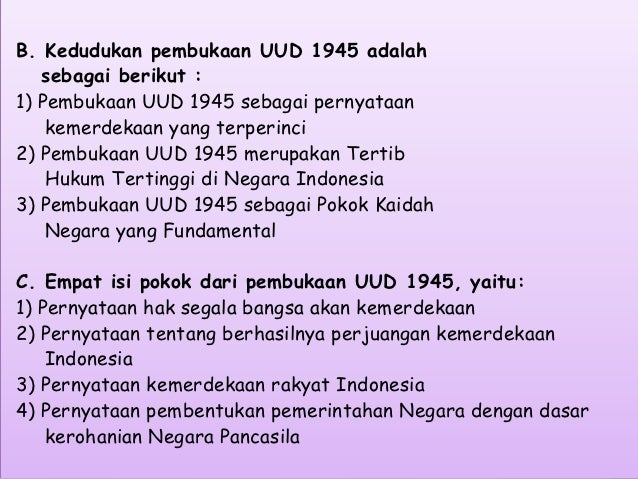 Hubungan dasar negara dan konstitusi