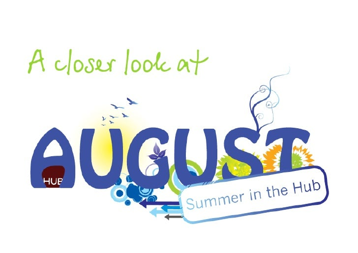 Hub Vienna - Summer in the Hub - August Overview