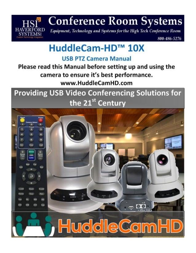 HuddleCamHD 10x User Manual