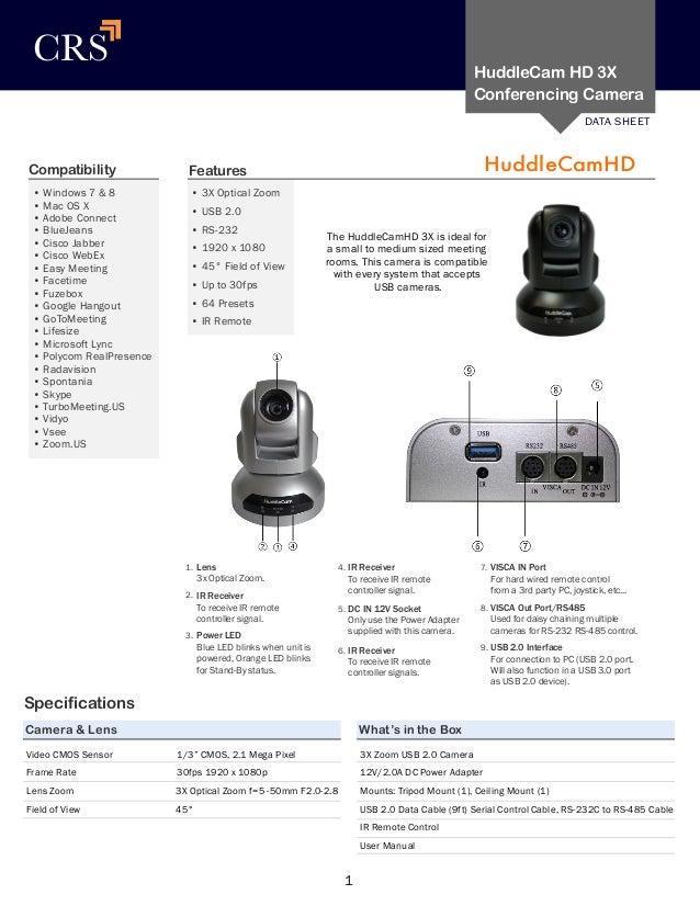 HuddleCamHD 3x Brochure