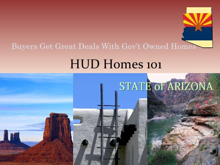 Buyers Get Great Deals With Gov't Owned Homes<br />HUD Homes 101<br />